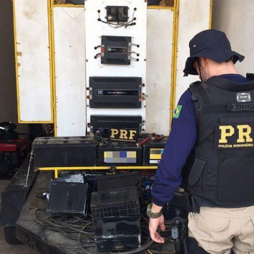 PICOS | Empresário é preso por furtar baterias de torres de telefonia para usar em 'paredão de som'