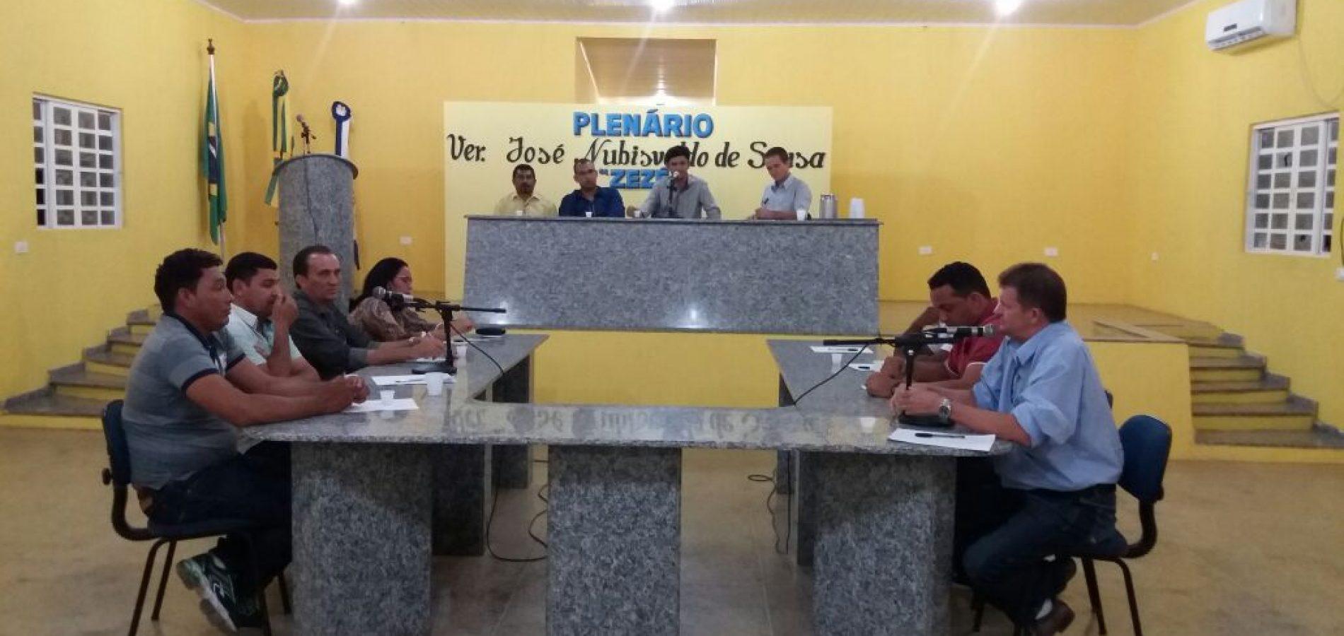 Em sessão, vereadores repercutem resultado das eleições em Campo Grande do Piauí