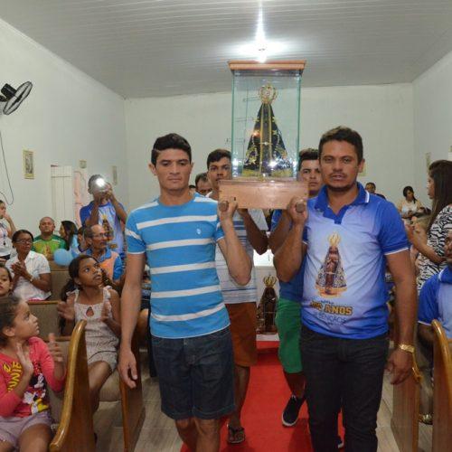 Jacobina do Piauí recebe a imagem peregrina de Nossa Senhora Aparecida; fotos