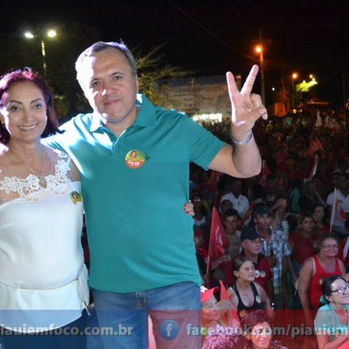 Maria José e Dr. Laércio Luz vencem eleições em Fronteiras