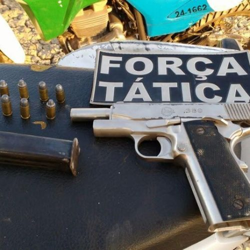 Trio é preso após assalto escondido em motel no interior do Piauí
