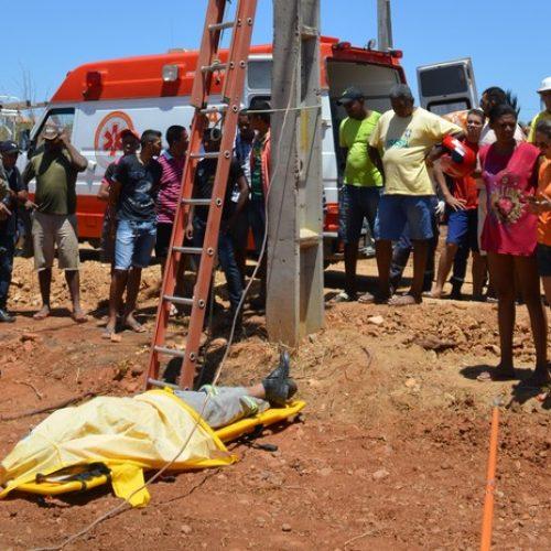 Eletricista sofre descarga elétrica e morre durante serviço em Paulistana