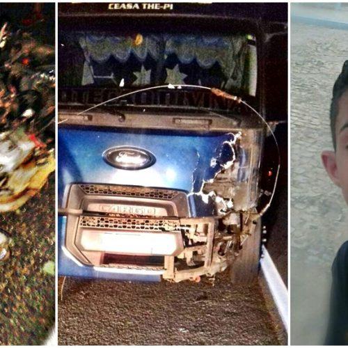 PATOS   Adolescente morre após colidir com caminhão na BR 407; veja imagens