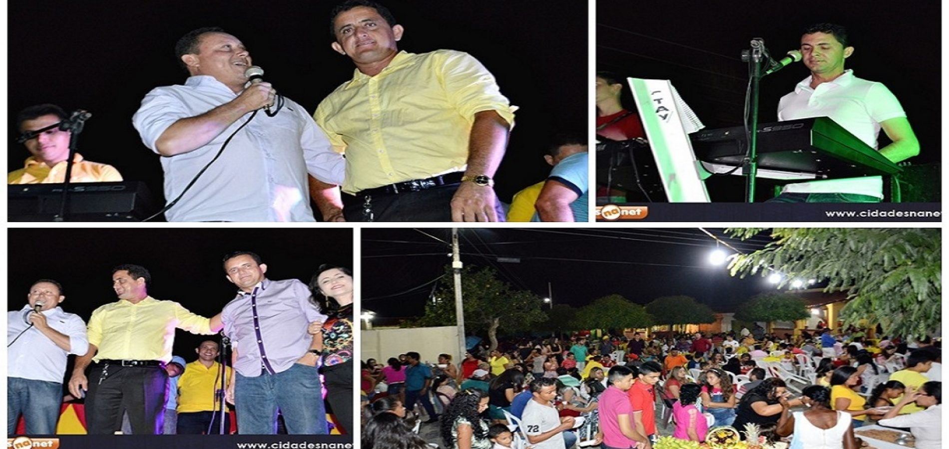 VILA NOVA | Vereador Roberto Moura faz carreata e oferece jantar em comemoração a sua vitória; Veja fotos