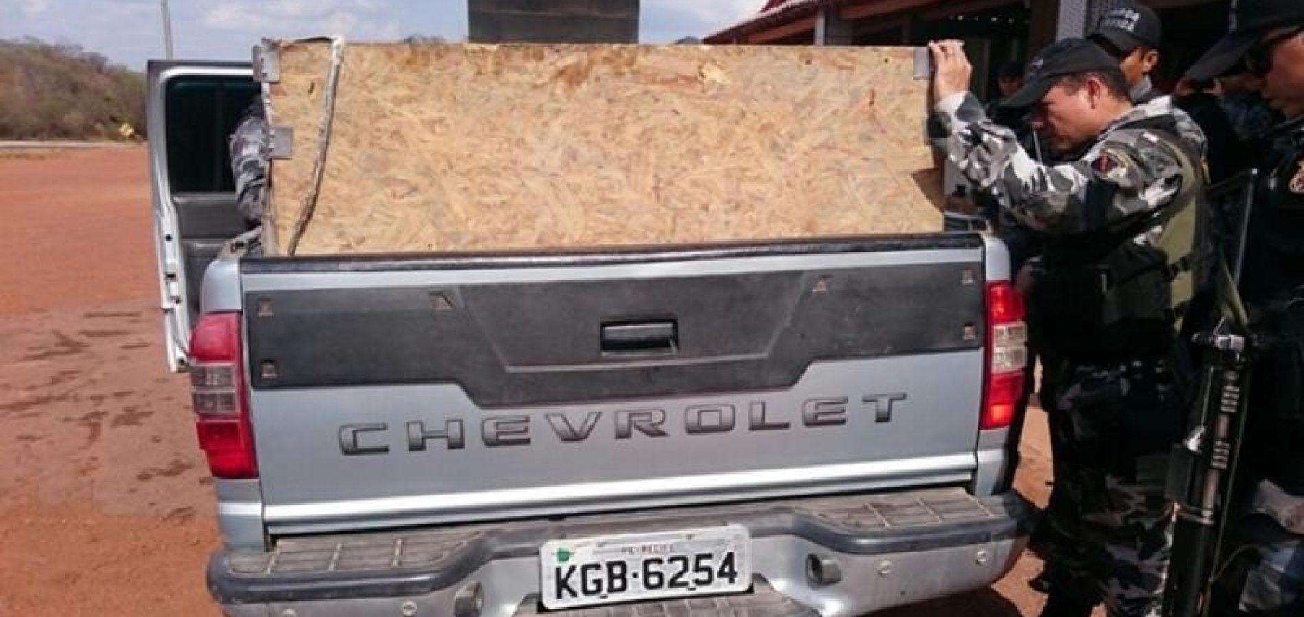 Polícia encontra veículo usado na explosão de carro-forte em Dom Expedito Lopes