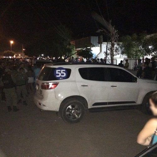 Carro de deputado Georgiano Neto é levado até juiz na cidade de Guadalupe