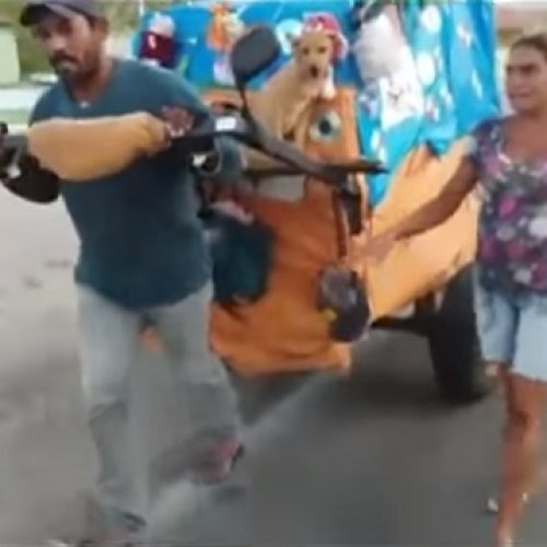 Casal morador de rua viaja a pé durante 3 anos de São Paulo até o Ceará