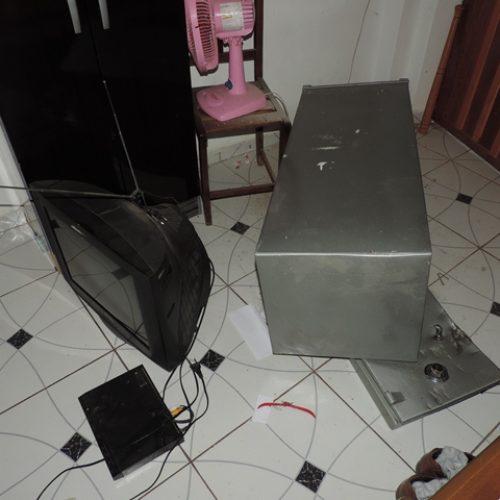Ladrões invadem residência de ex-vereador e arrombam cofre no interior do PI