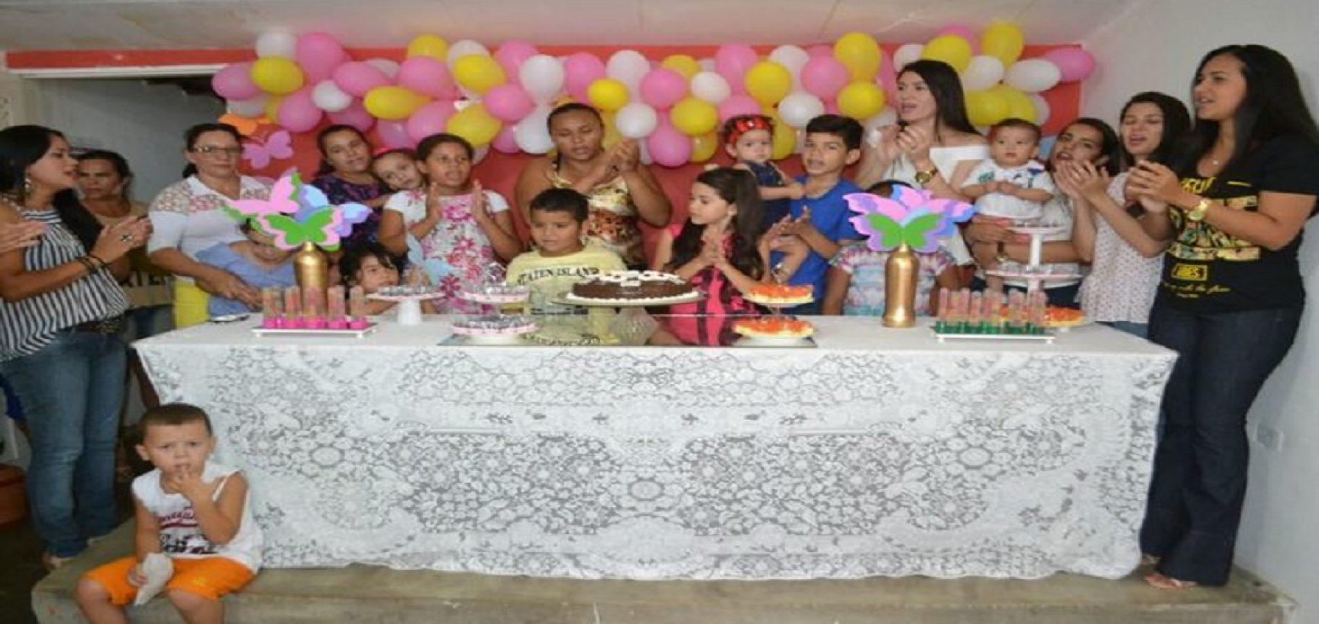 ALEGRETE   Núcleo de Apoio a Saúde da Família realiza festa do Dia da Criança