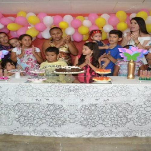 ALEGRETE | Núcleo de Apoio a Saúde da Família realiza festa do Dia da Criança
