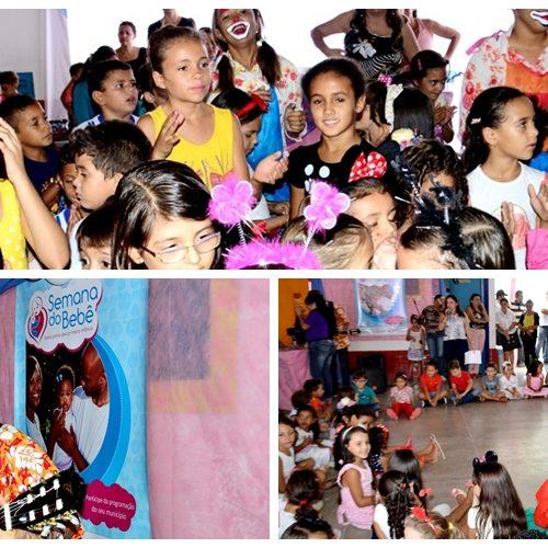Musical infantil encerrou a 'V Semana do Bebê' em Vila Nova; Fotos