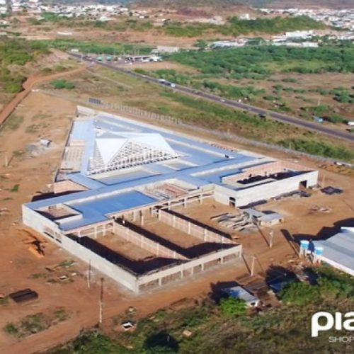 PICOS | Obras de construção do Piauí Shopping chegam à reta final e gera expectativas