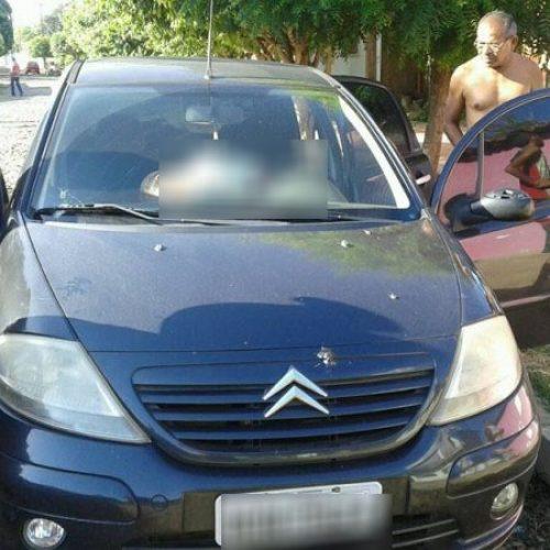 Professor é assassinado dentro de carro na porta de casa no interior do Piauí