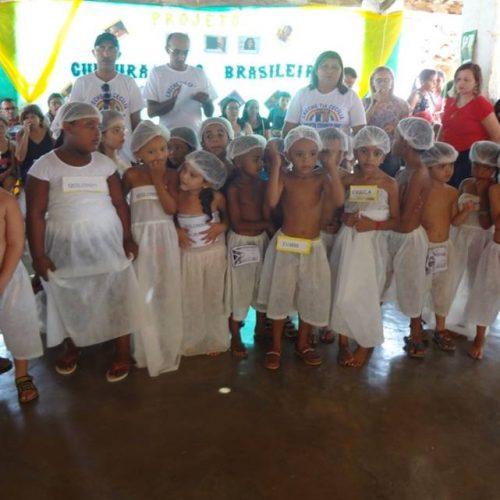 MASSAPÊ   Escola Municipal desenvolve projeto de valorização da cultura afro-brasileira