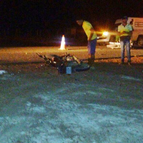 Duas pessoas morrem em colisão frontal de motos em Marcolândia; fotos