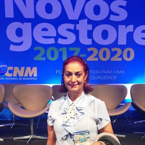 FRONTEIRAS   Em vídeo, Prefeita eleita Maria José fala a respeito do encontro de gestores em Brasília-DF; Veja