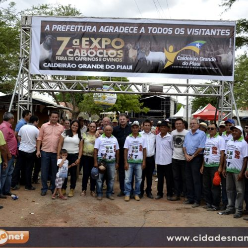FOTOS | ExpoCaboclos, feira de ovinos e caprinos em Caldeirão Grande do PI