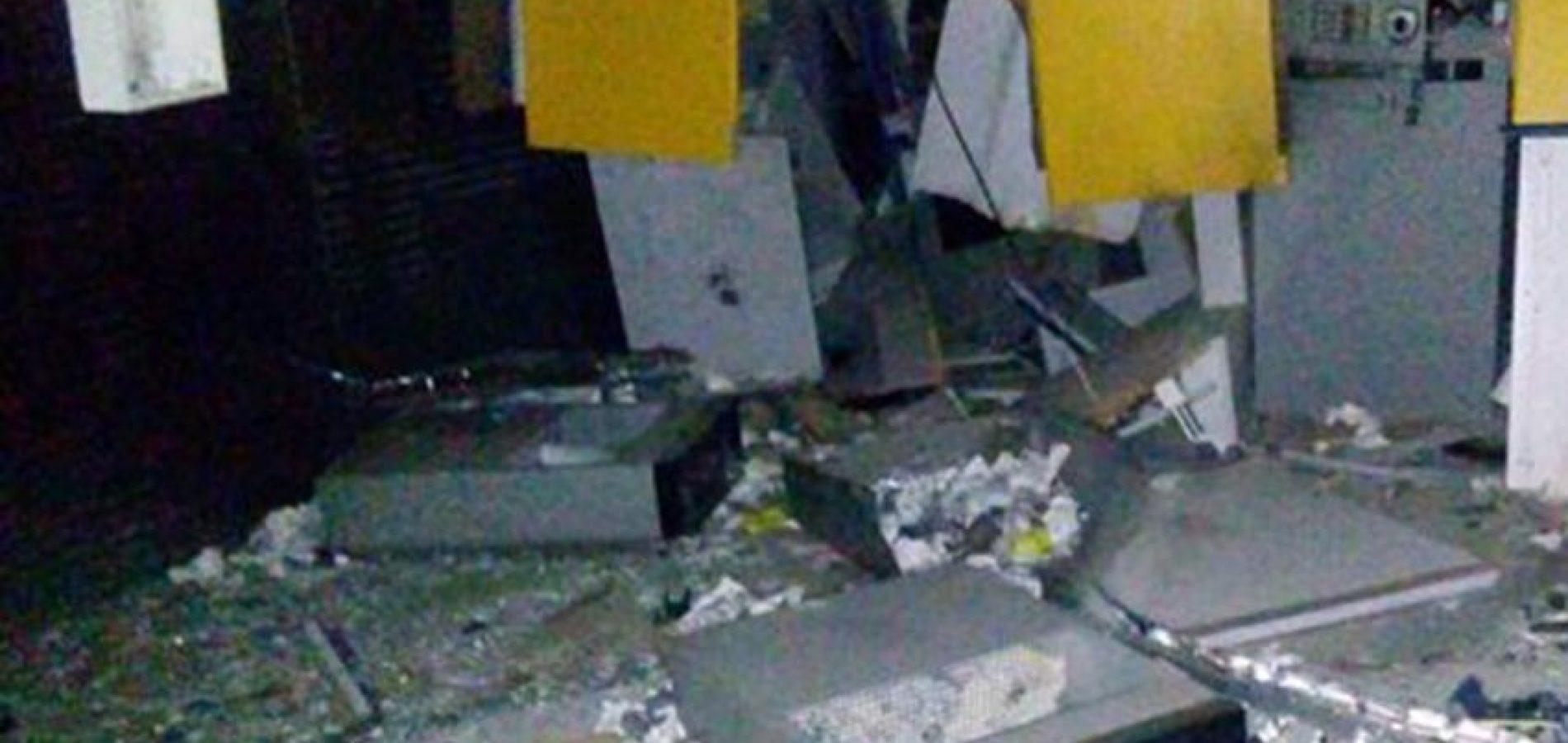 Quadrilha armada explode três caixas e o cofre do Banco do Brasil no interior do Piauí
