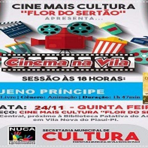 Secretaria de Cultura e NUCA promovem exibição de filme na quinta 24, em Vila Nova