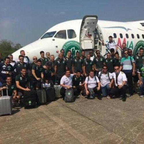 Confira a lista de passageiros do avião que levava a Chapecoense