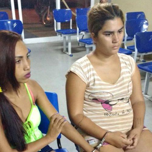 """Polícia Militar prende """"irmãs do tráfico"""" em Picos"""