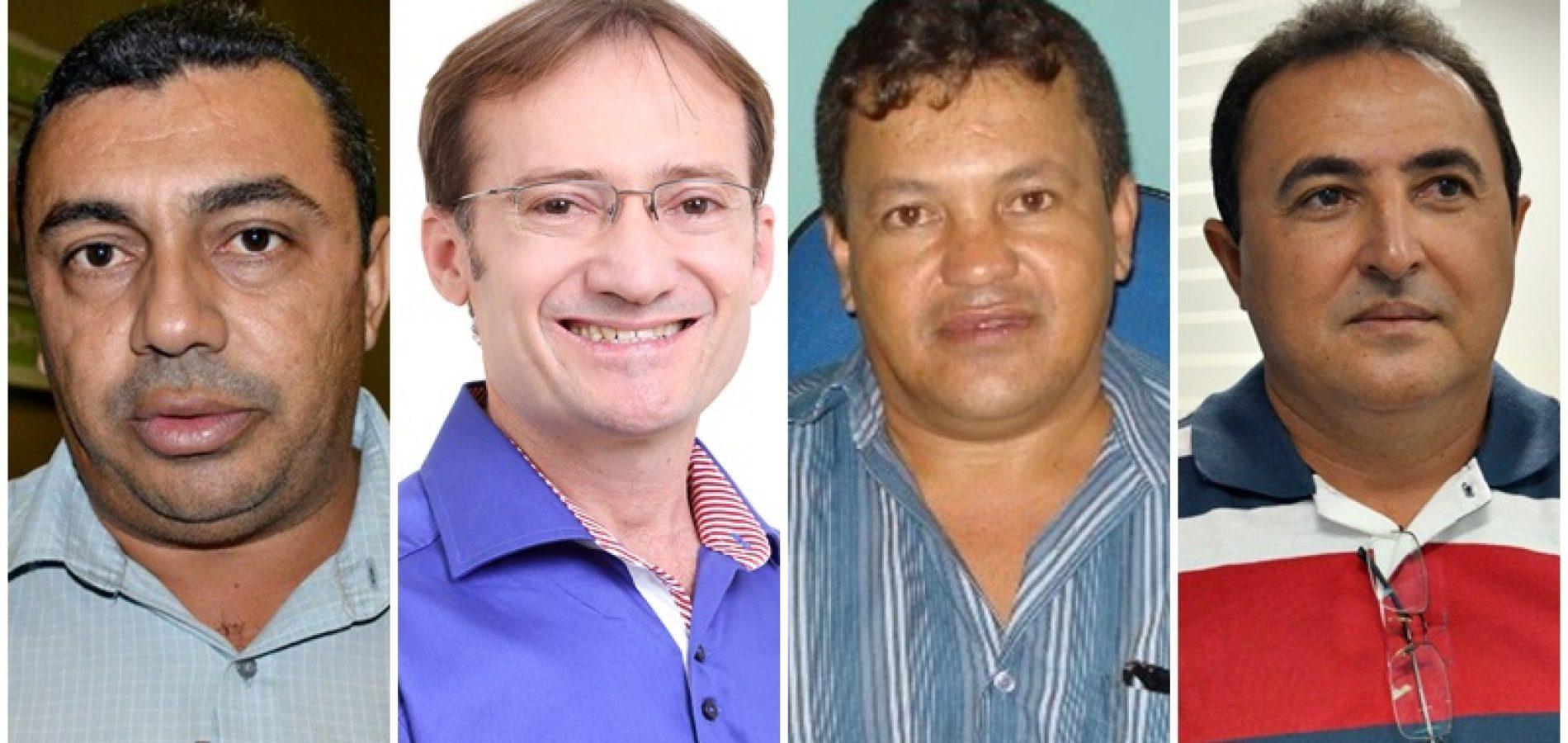 Prefeitos eleitos em Jaicós, Massapê, Campo Grande e Patos serão diplomados nesta terça-feira