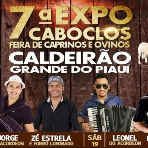 'ExpoCaboclos' acontece neste fim de semana e vai movimentar Caldeirão Grande do Piauí