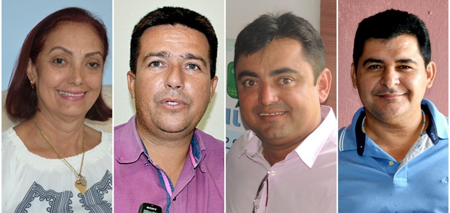 Eleitos em Fronteiras, Caldeirão, Alegrete e São Julião serão diplomados dia 15 de dezembro