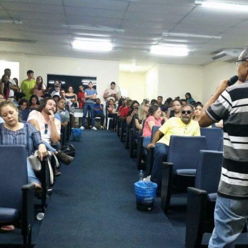 Professores de Picos mantêm posição firme a favor da greve