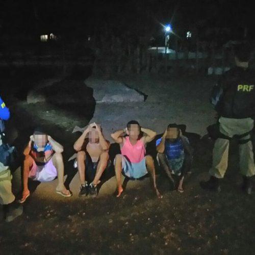 PRF recaptura detentos pouco tempo após fugirem de presídio no Piauí