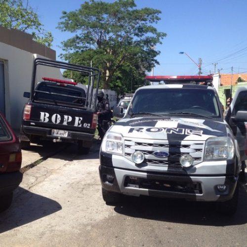 Gate, Bope e Rone são deslocados para 'caça' a assaltantes de carro-forte no Piauí