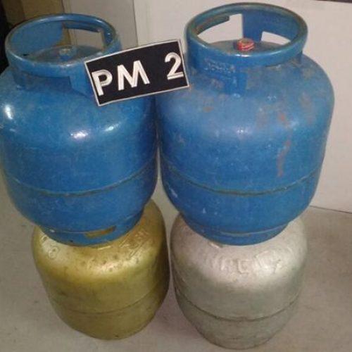 Presos acusados de furtar botijões de gás em Picos