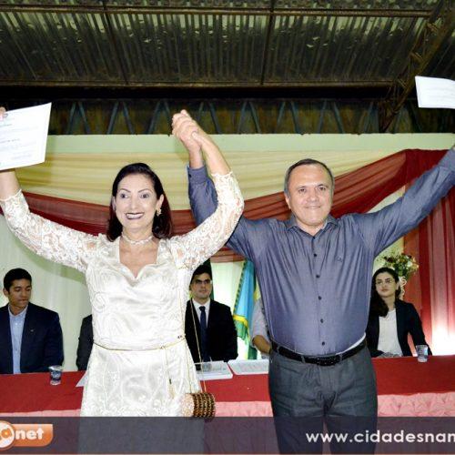 Maria José, Dr. Laércio e vereadores eleitos são diplomados pela justiça eleitoral em Fronteiras; Veja fotos