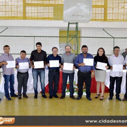 Justiça Eleitoral diploma Ademar prefeito de Belém do Piauí pela 3ª vez