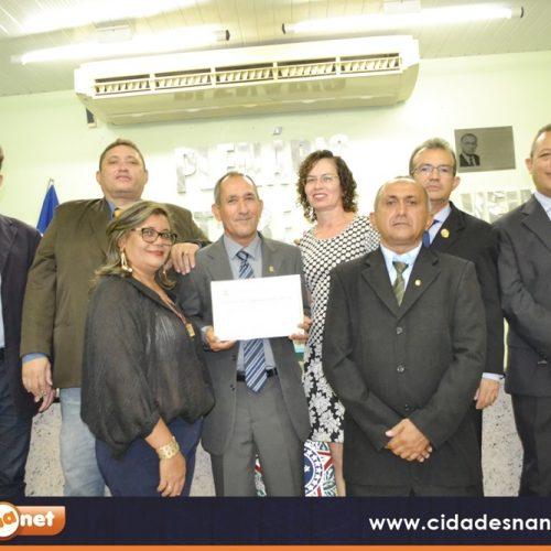 Câmara de Jaicós entrega Título de Cidadania ao pastor Ednaldo