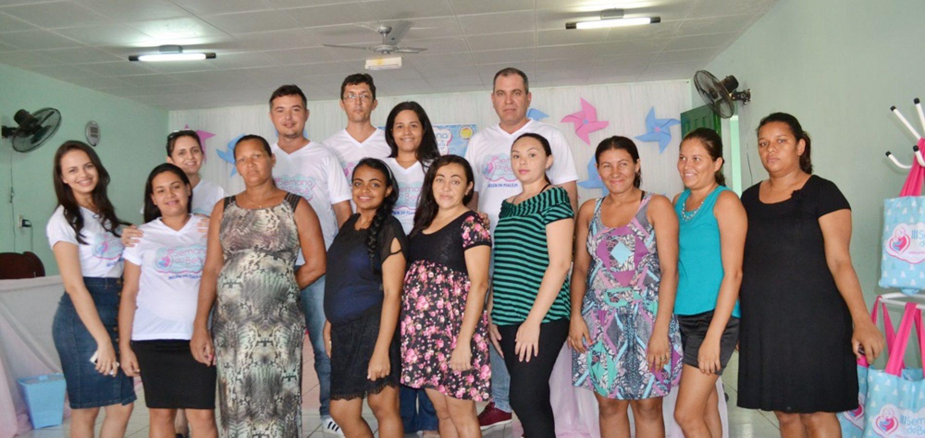 Prefeitura de Belém do Piauí abre a III Semana do Bebê; fotos!