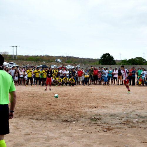 'Vila Nova' vence equipe do 'São João' na final do 17º Campeonato Municipal de Futebol em Vila Nova