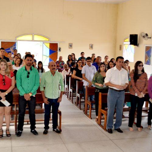 Missa em ação de graças, marca abertura da programação de 21 anos de Vila Nova; Veja fotos