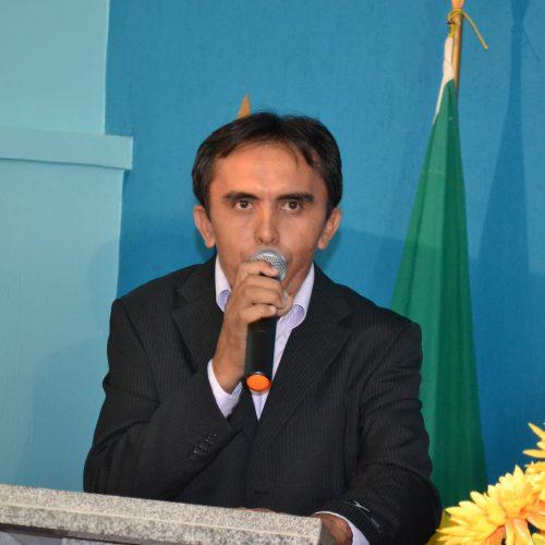 Vereador Bonifácio lança candidatura à presidência da Câmara em Padre Marcos