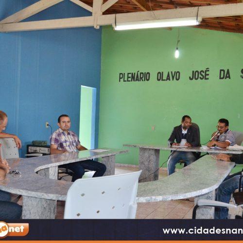 Em sessão, vereadores da Câmara Municipal de Massapê do Piauí  lamentam morte de servidor público