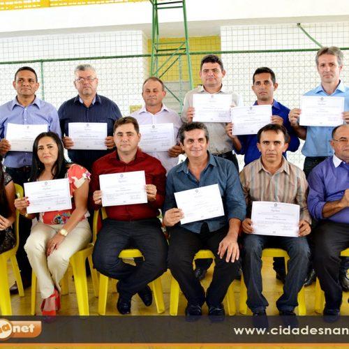 Justiça Eleitoral diploma candidatos eleitos em Padre Marcos. Veja!