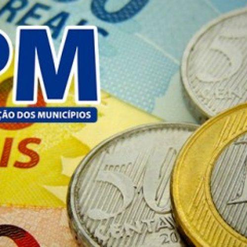 Municípios  receberão segundo repasse do FPM no dia 20 de janeiro