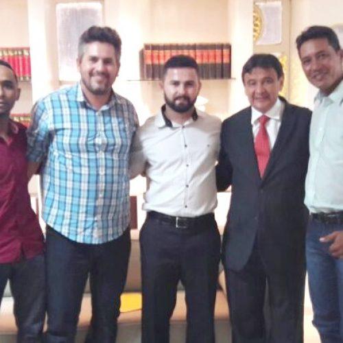 Prefeito eleito em Jacobina do PI tem audiência com o governador Wellington Dias e leva reivindicações