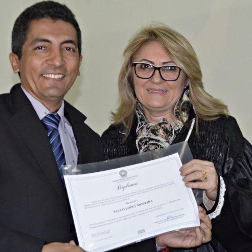 Dr. Paulo Lopes recebe o segundo diploma como prefeito de Itainópolis