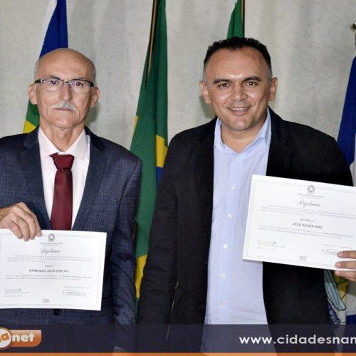 Já diplomados, Raimundo Júlio e Jeso assumem a Prefeitura de Queimada Nova dia 1° de janeiro; veja a programação