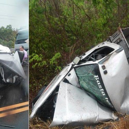 Acidente causa morte de duas pessoas na BR-316, em Caxias