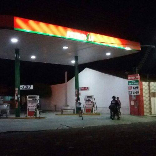 Dupla assalta posto de combustível em Alegrete
