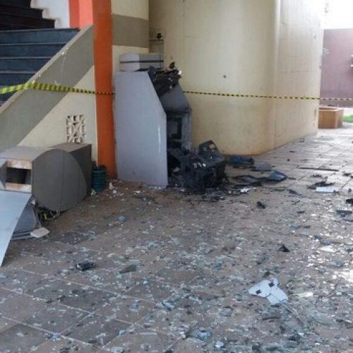 Bandidos  explodem caixa eletrônico na Prefeitura de Picos