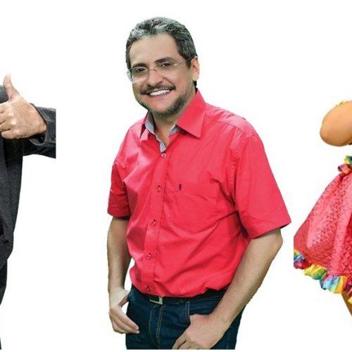 Três renomados humoristas vão se apresentar em Picos, Oeiras e Teresina. Veja!