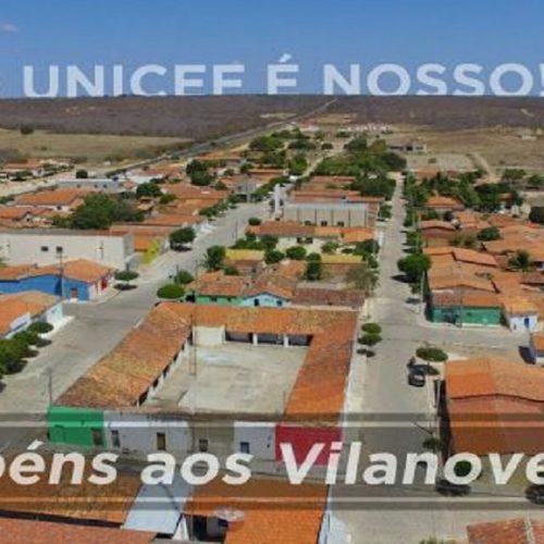 Vila Nova conquista pela terceira vez consecutiva Selo UNICEF 'Município Aprovado'